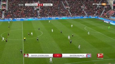 Full match: Bayer Leverkusen vs Bayern Munich