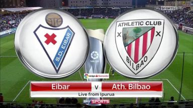 Full match: Eibar vs Athletic Club