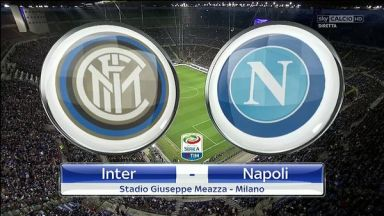 Full match: Inter Milan vs Napoli