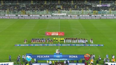 Full match: Pescara vs Roma