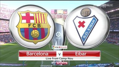 Full match: Barcelona vs Eibar