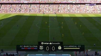 Full match: Barcelona vs Villarreal