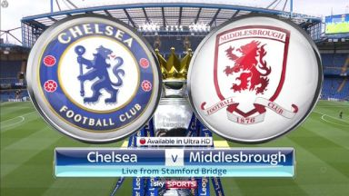 Full match: Chelsea vs Middlesbrough