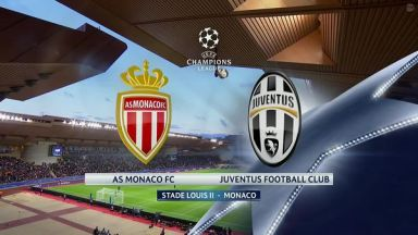 Full match: Monaco vs Juventus