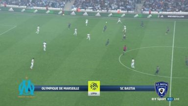 Full match: Olympique Marseille vs Bastia