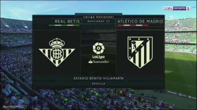 Full match: Real Betis vs Atletico Madrid