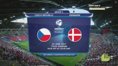 Full match: Czech Republic U21 vs Denmark U21