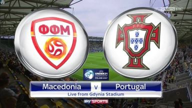Full match: FYR Macedonia U21 vs Portugal U21