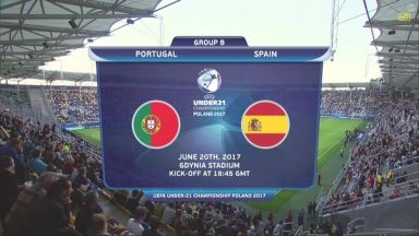 Full match: Portugal U21 vs Spain U21