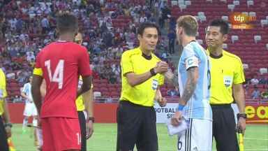 Full match: Singapore vs Argentina