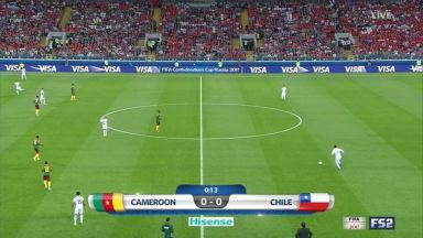 Full match: Cameroon vs Chile