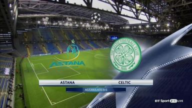 Full match: Astana vs Celtic