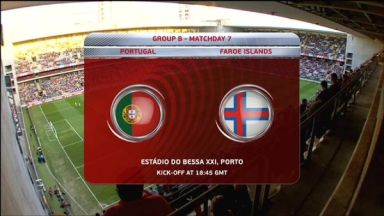 Full match: Portugal vs Faroe Islands