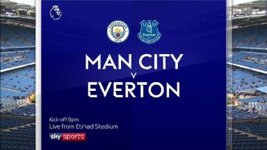 Full match: Manchester City vs Everton