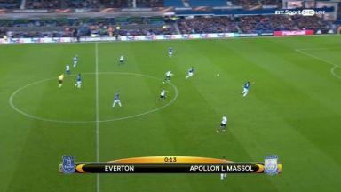 Full match: Everton vs Apollon