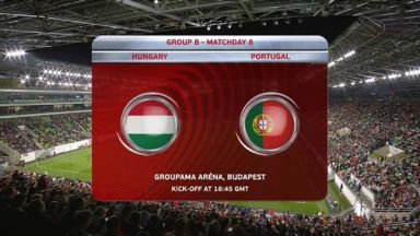 Full match: Hungary vs Portugal