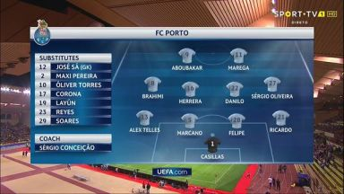 Full match: Monaco vs Porto