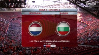 Full match: Netherlands vs Bulgaria