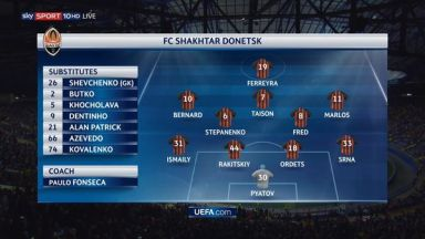 Full match: Shakhtar Donetsk vs Napoli