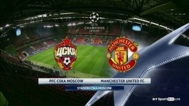 Full match: CSKA Moskva vs Manchester United