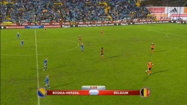 Full match: Bosnia-Herzegovina vs Belgium