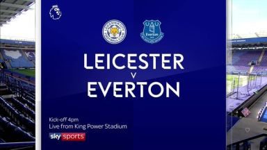 Full match: Leicester City vs Everton