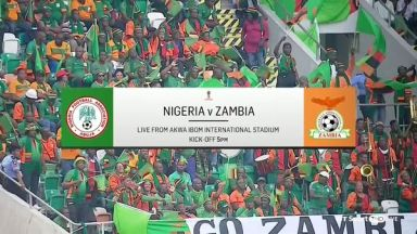 Full match: Nigeria vs Zambia