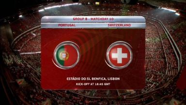 Full match: Portugal vs Switzerland