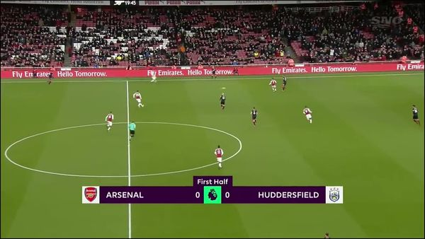 Arsenal Vs Huddersfield: Arsenal Vs Huddersfield Town Full Match Replay