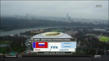 Full match: Russia vs Argentina