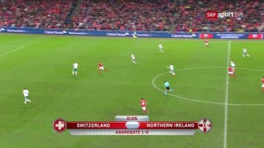 Full match: Switzerland vs Northern Ireland