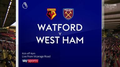 Full match: Watford vs West Ham United