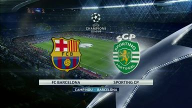 Full match: Barcelona vs Sporting CP