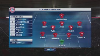 Full match: Bayern Munich vs PSG