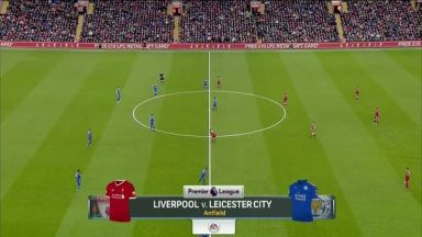 Full match: Liverpool vs Leicester City