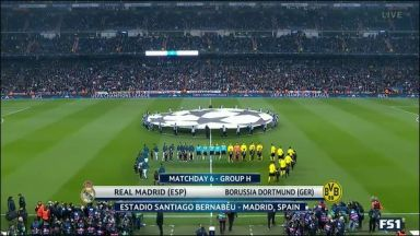 Full match: Real Madrid vs Borussia Dortmund