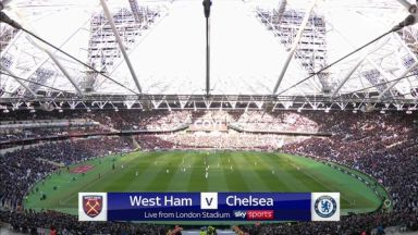 Full match: West Ham United vs Chelsea