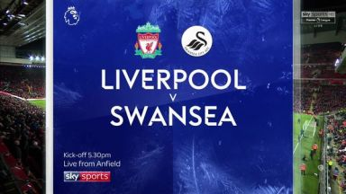 Full match: Liverpool vs Swansea City