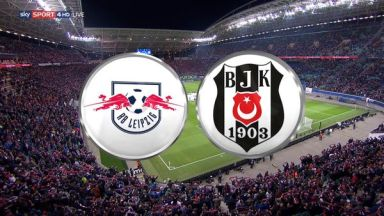 Full match: RB Leipzig vs Besiktas