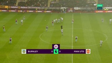 Full match: Burnley vs Manchester United