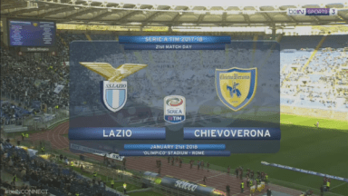 Full match: Lazio vs Chievo