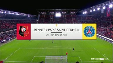 Full match: Rennes vs PSG