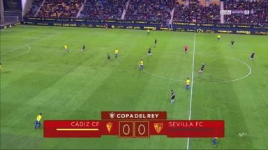 Full match: Cadiz vs Sevilla