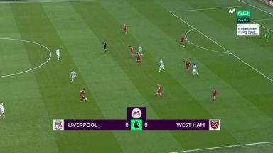 Full match: Liverpool vs West Ham United