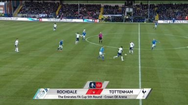 Full match: Rochdale vs Tottenham Hotspur