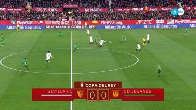 Full match: Sevilla vs Leganes