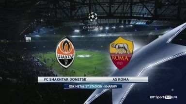 Full match: Shakhtar Donetsk vs AS Roma