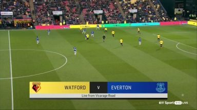Full match: Watford vs Everton