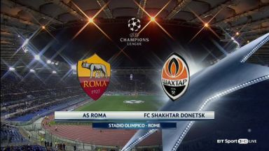 Full match: Roma vs Shakhtar Donetsk