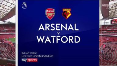 Full match: Arsenal vs Watford